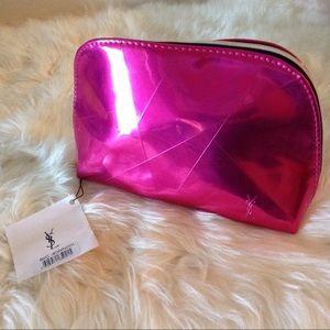 YSL Beaute Clutch Accessory in Hot a Pink